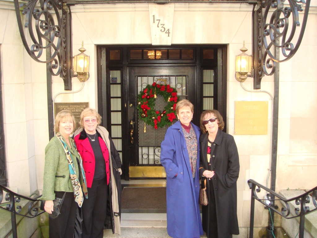 Visit to GFWC headquarters in D.C.